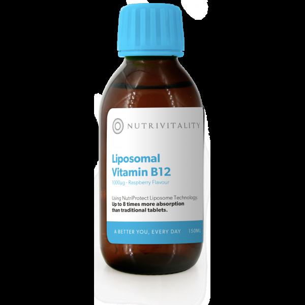Liposomal Vitamin B12 Nutrivitality