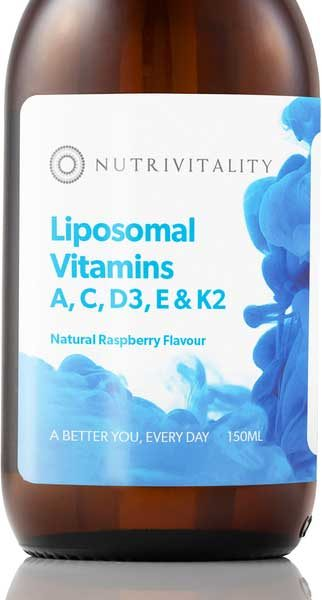Vitamins A, C, D3, E & K2
